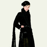 Robe pull noire One Step