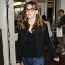 Jennifer Garner à son arrivée à Los Angeles le 8 septembre 2013