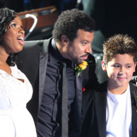 Photo : Jennifer Hudson, Lionel Richie et Shaheen Jafargholi