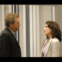 Photo : Hugh Laurie et Lisa Edelstein