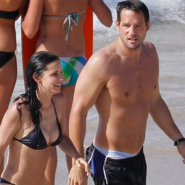 Josh Hopkins et Courteney Cox