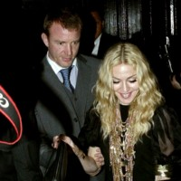 Photo : Madonna et son ex-mari Guy Ritchie