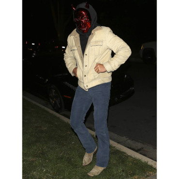 Sean Penn en Red Devil pour Halloween 2013. Los Angeles