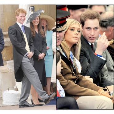 Chelsy Davy avec William Kate Middleton avec Harry