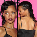 Rihanna et sa coiffure rtro au dfil Victoria&#039;s Secret