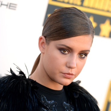 Adèle Exarchopoulos aux Critics' Choice Movie Awards 2014 le 16 janvier 2014 à Los Angeles