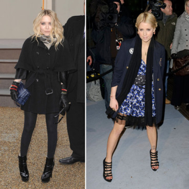 Ashley Olsen et Peaches Geldolf