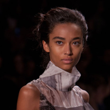 chignon Vera Wang Fashion Week Milan AH 2012/2013