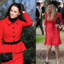 Kate Middleton et Chelsy Davy en rouge