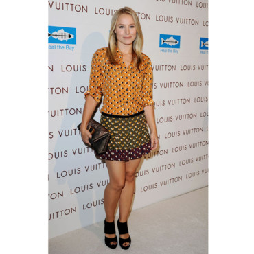 Kristen Bell en Louis Vuitton