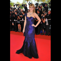 Photo : Mischa Barton sur le tapis rouge de Cannes
