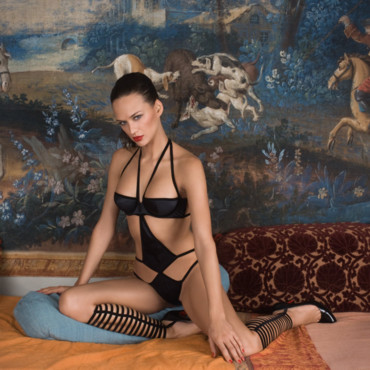 Lingerie Maison Close : ensemble Villa Caprice