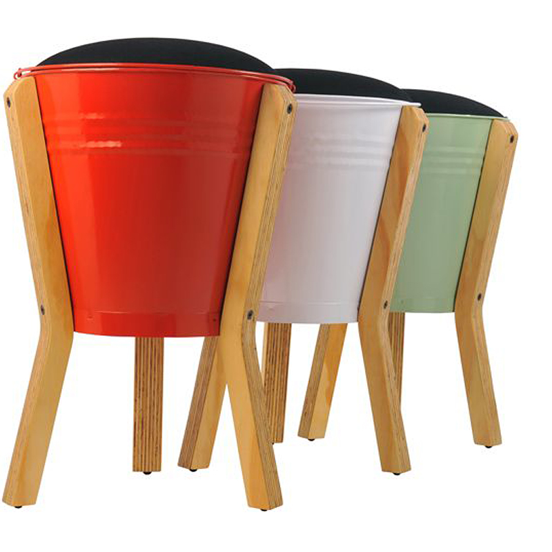 d co colo le tabouret fire bucket mahatsara. Black Bedroom Furniture Sets. Home Design Ideas
