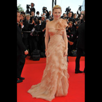 Photo : Cate Blanchett sur la tapis rouge de Cannes