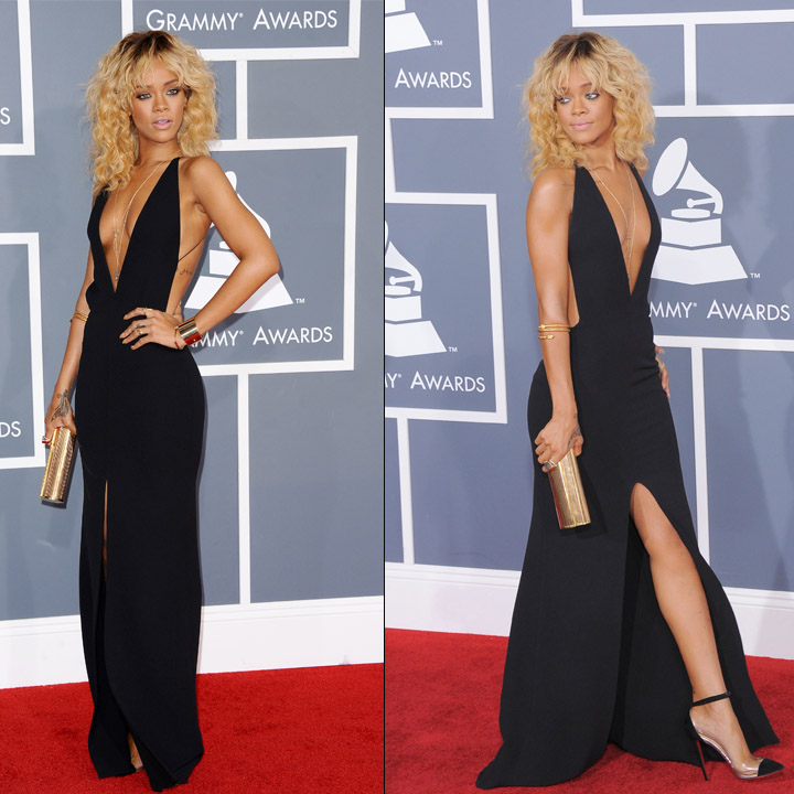 Robe de rihanna au grammy awards