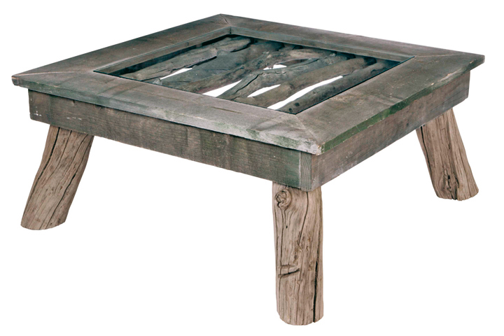 Table basse bleu nature objet d co d co - Table basse bleu ...