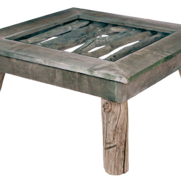 Table basse Bleu Nature