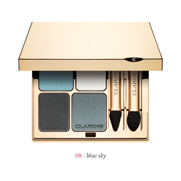 Clarins Collection Colour Breeze Ombre minérale 4 couleurs 45 euros palette Blue Sky