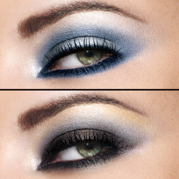 Smoky Eyes : looks Gemey-Maybelline