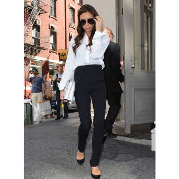 Victoria Beckham working girl