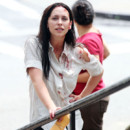 IMAGES : Jennifer Love Hewitt sur le tournage de New York Unit spciale
