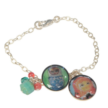 Bracelet Matriochka de Miss Sugar Cane