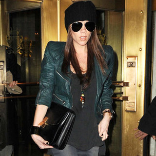 Victoria Beckham en mode Power Ranger