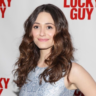 Emmy Rossum à la première de Lucky Guy à New York le 1er avril 2013
