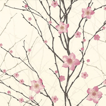 Tendance papiers peints 2011 : un esprit fleuri made in Japan
