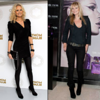 Adriana Karembeu vs. Kate Moss : match look spécial top model