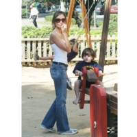 Photo : Calista Flockhart et son fils Liam