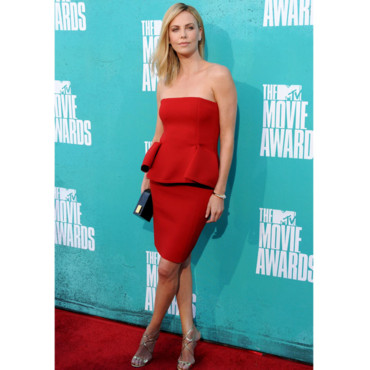Charlize Theron MTV Movie Awards 2012