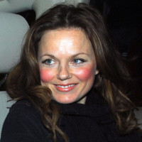 Photo : Geri Halliwell a forcé sur le maquillage !