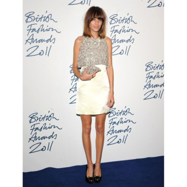 Alexa Chung aux British Fashion Awards