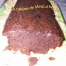 Cake au cacao, orange et cannelle