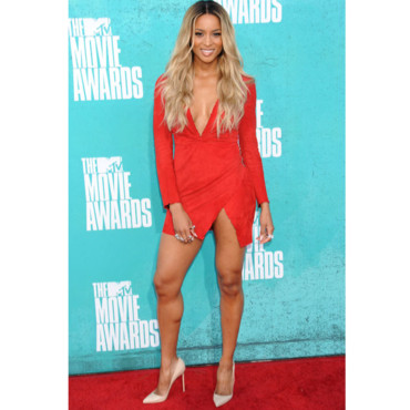 Ciara aux MTV Movie awards 2012