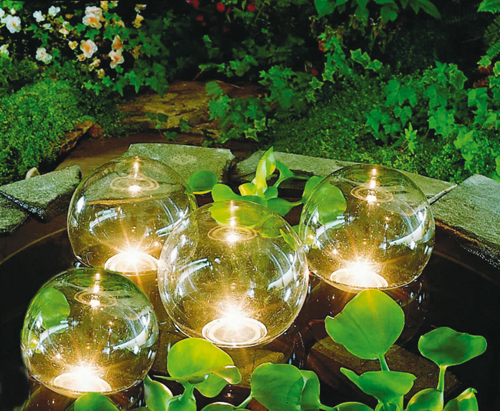 D co jardin lampe for Lampe jardin