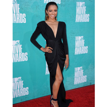 Kat Graham aux MTV Movie awards 2012