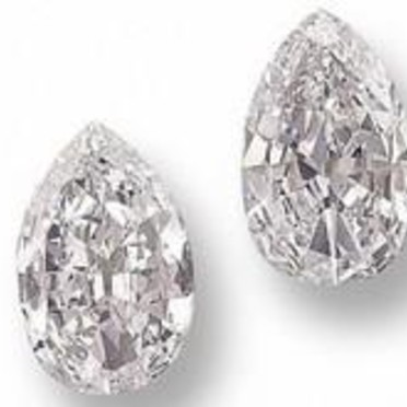 Diamants poire - Copyright © <Diamants infos>