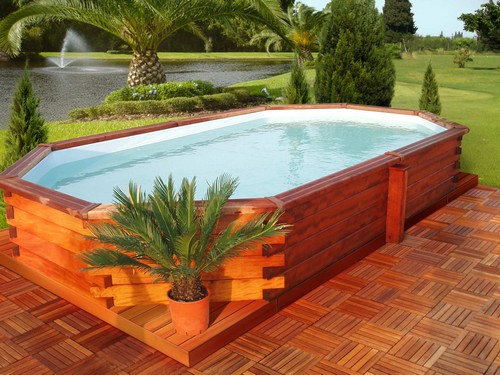 D coration piscine hors sol votre bassin en un week for Piscine gonflable 2m
