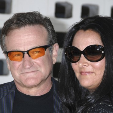 people : Robin Williams et Marsha Garces