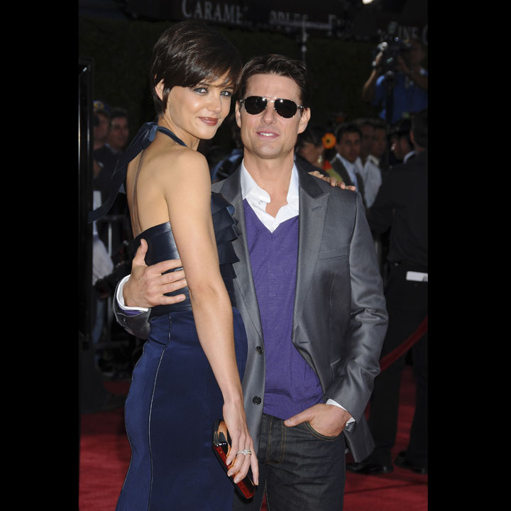 Katie holmes tom cruise la pers cute avec des roses for Cuisine tom cruise
