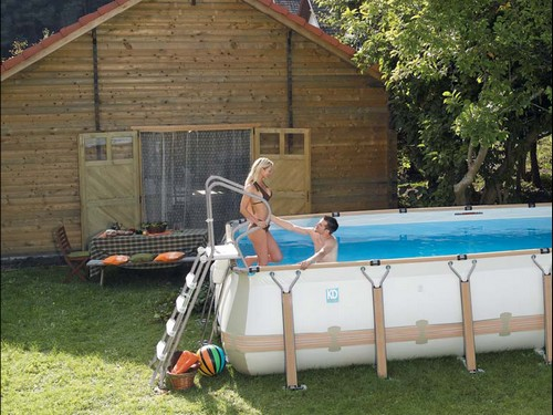 D coration quel type de piscine tendances d co d co - Amenager une piscine hors sol ...