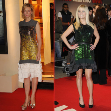 Reese Witherspoon et Cate Blanchett en Louis Vuitton