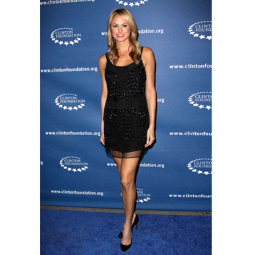 Stacy Keibler en mode transparent en 2009