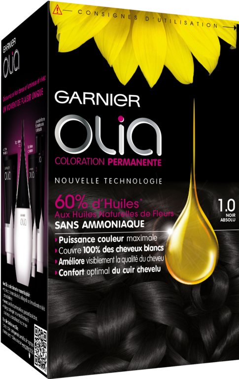 intermde coloration olia garnier - Colorant Pour Cheveux Sans Ammoniaque