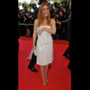 Photo : Gillian Anderson sur le tapis rouge de Cannes