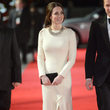 "Kate Middleton à la première de ""Mandela : Long Walk to Freedom"" à Londres le 5 décembre 2013"