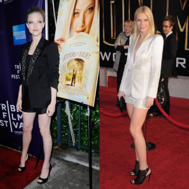 Amanda Seyfried et Gwyneth Paltrow en short