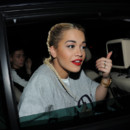 Rita Ora au défilé Etam à la Fashion Week de Paris 2013
